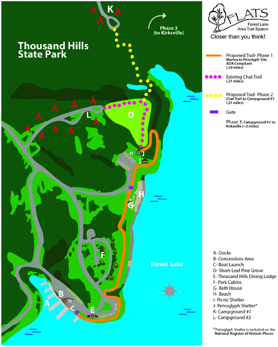 Trail Map Phase 1
